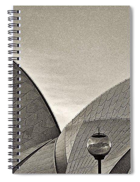 Sydney Opera House Roof Detail Spiral Notebook
