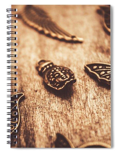 Symbols Of Zen Spiral Notebook
