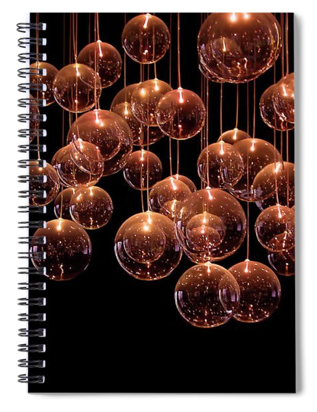 Symphony In The Dark Spiral Notebook