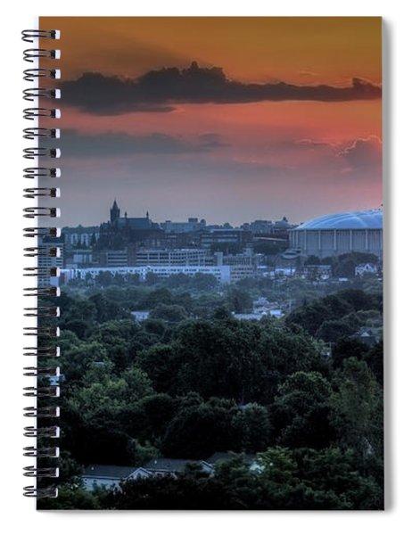 Syracuse Sunrise Spiral Notebook