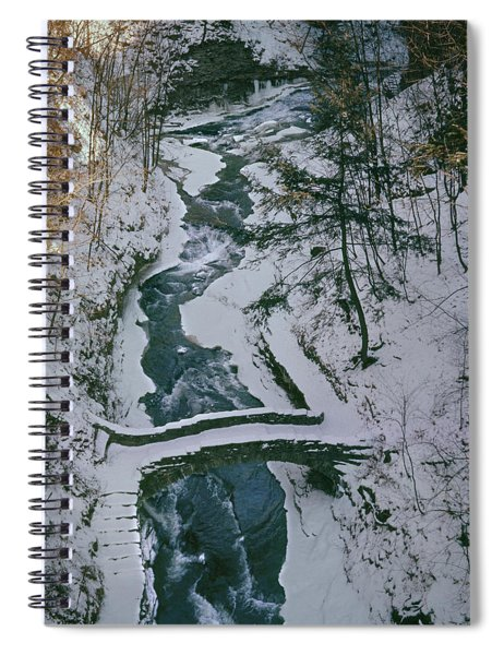 T-31501 Gorge On Cornell University Campus Spiral Notebook