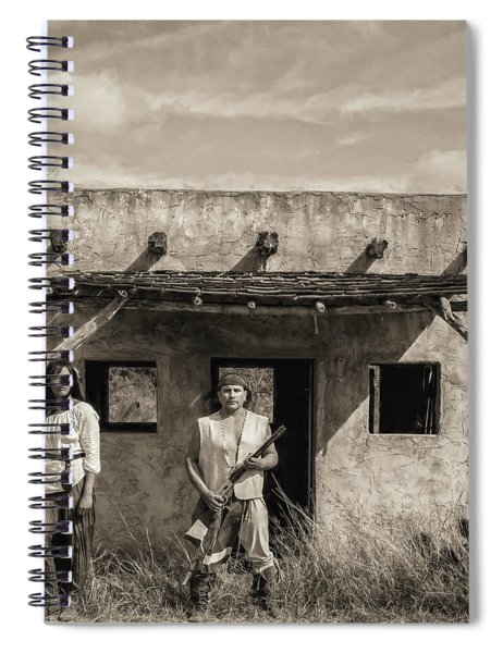 T And Frank Spiral Notebook