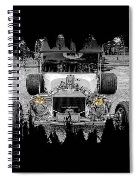 T Bucket Spiral Notebook