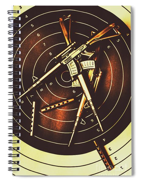 Tactical Army Range Spiral Notebook