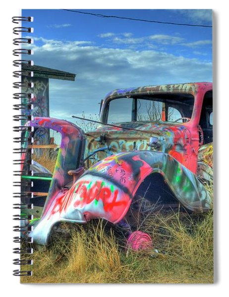 Tagged Spiral Notebook