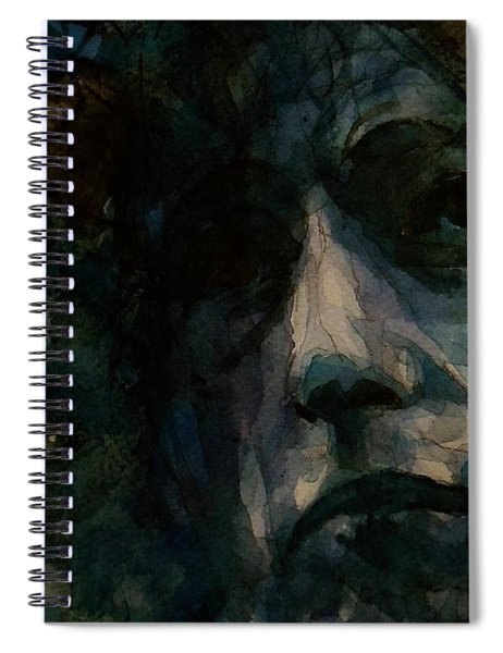 Tagged Up In Blue- Bob Dylan  Spiral Notebook