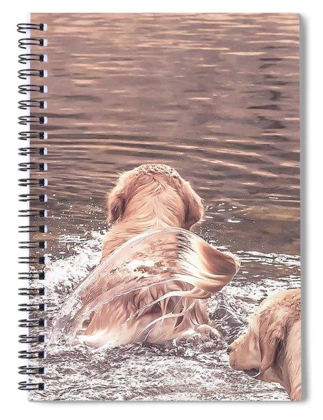 Tail Flag Spiral Notebook