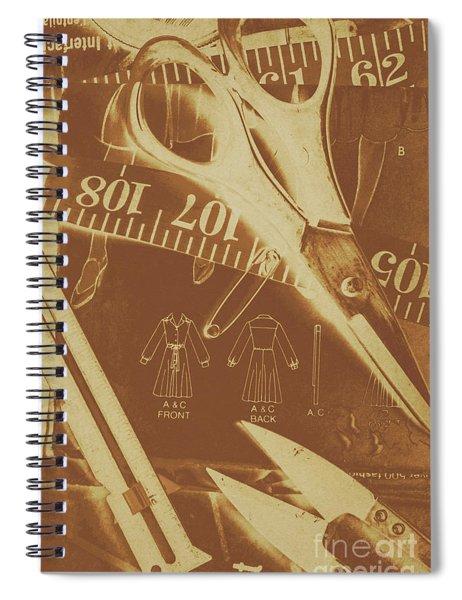 Tailor Art Spiral Notebook