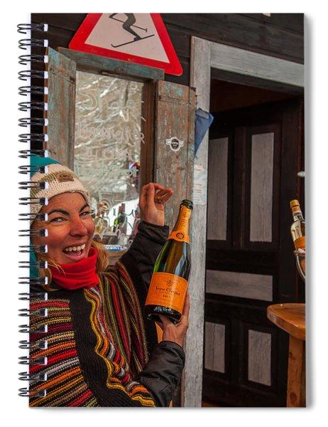 Taimi In Zermatt Switzerland Spiral Notebook