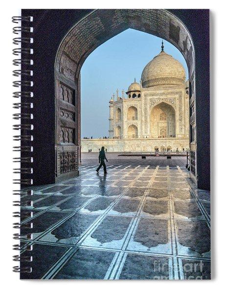 Taj Mahal 01 Spiral Notebook