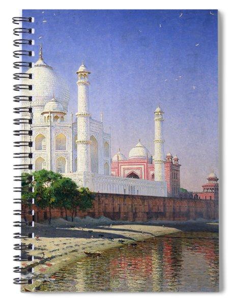 Taj Mahal Spiral Notebook by Vasili Vasilievich Vereshchagin