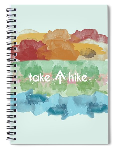Take A Hike Appalachian Trail Spiral Notebook