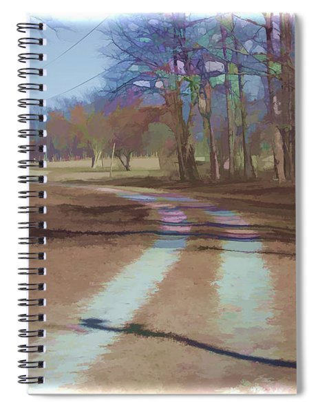Take Me Home Country Road Spiral Notebook
