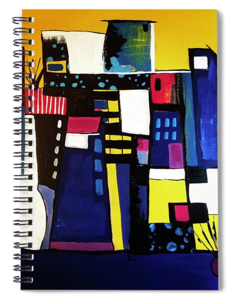 Take The Stairs Spiral Notebook