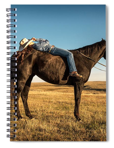 Taking A Snooze Spiral Notebook