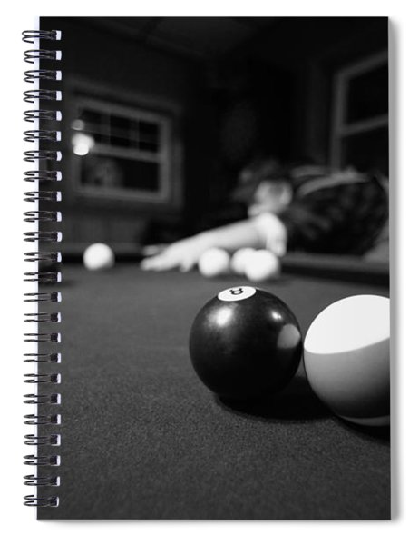 Taking His Shot Spiral Notebook