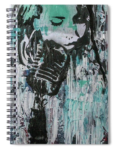 Talk Til We Both Turn Blue Spiral Notebook