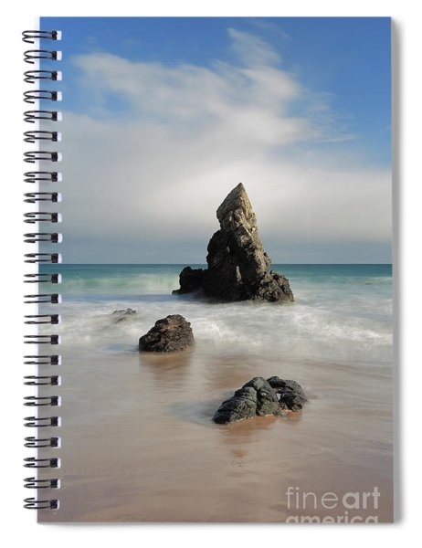 Tall And Proud On Sango Bay Spiral Notebook