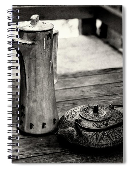 Tall And Small Spiral Notebook