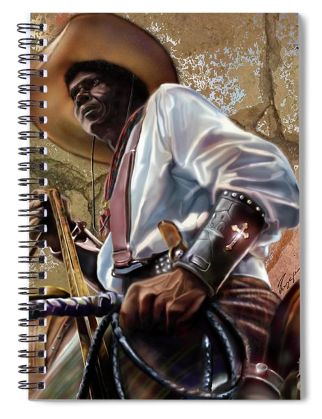 Tall In The Saddle Cowboy Pride 1a Spiral Notebook
