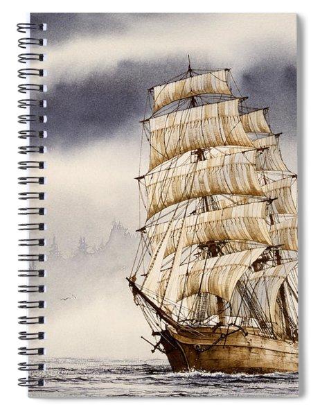 Tall Ship Adventure Spiral Notebook