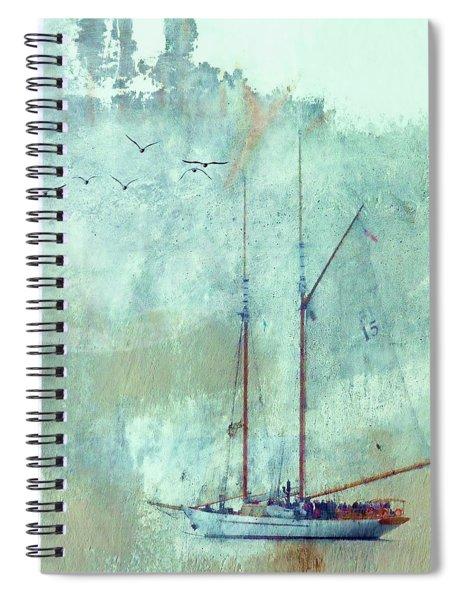 Tall Ship Adventuress Spiral Notebook