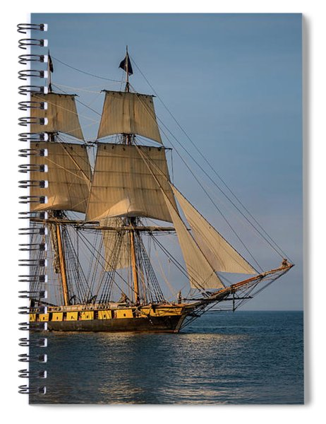 Tall Ship U.s. Brig Niagara Spiral Notebook