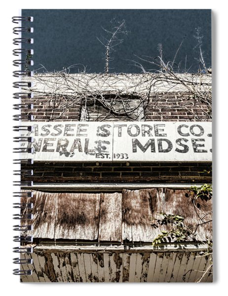 Tallassee Store Co Spiral Notebook