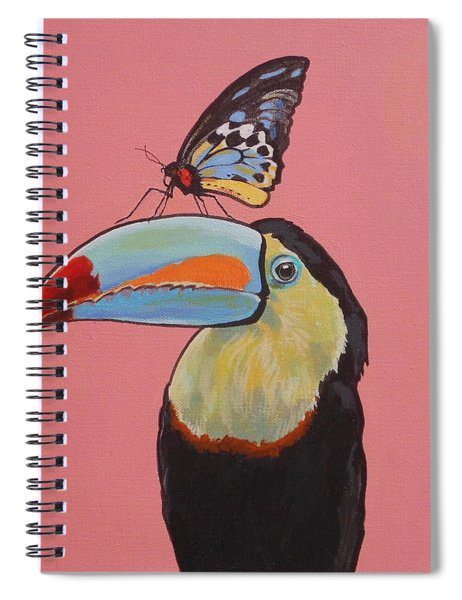 Talula The Toucan Spiral Notebook