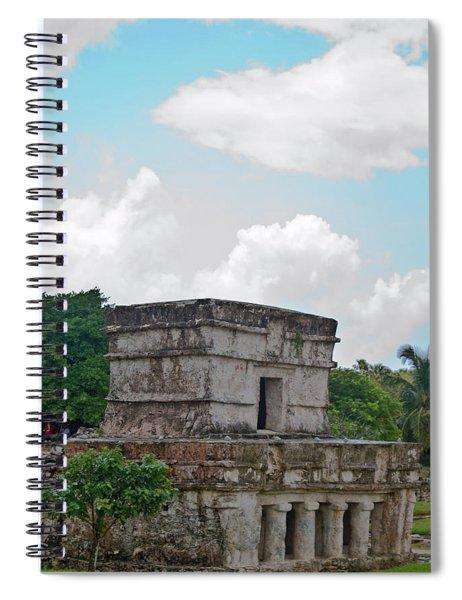 Talum Ruins 7 Spiral Notebook