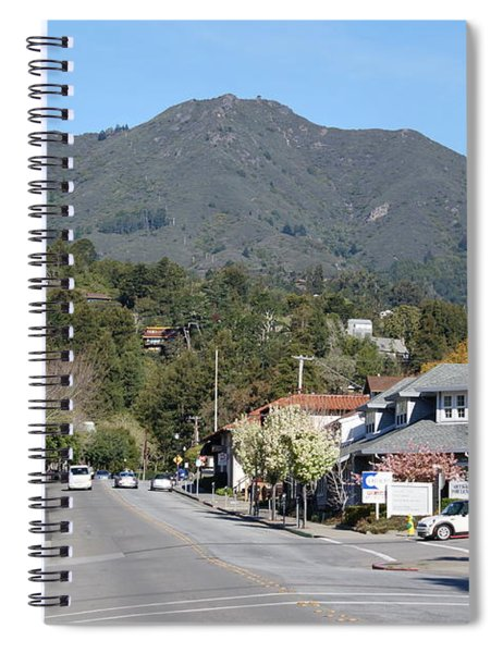 Tamalpais From Mill Valley Spiral Notebook