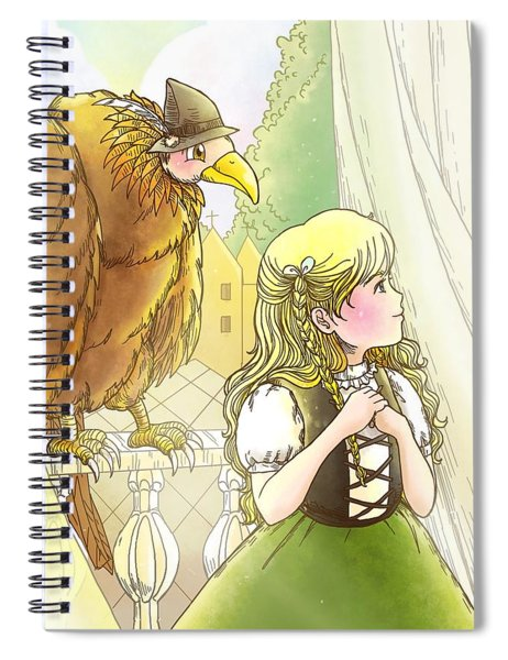 Tammy And Polly On The Balcony Spiral Notebook