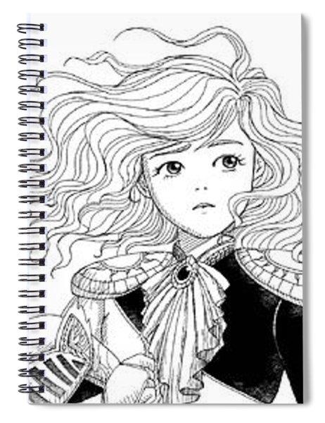 Tammy Portrait  Restorations Spiral Notebook