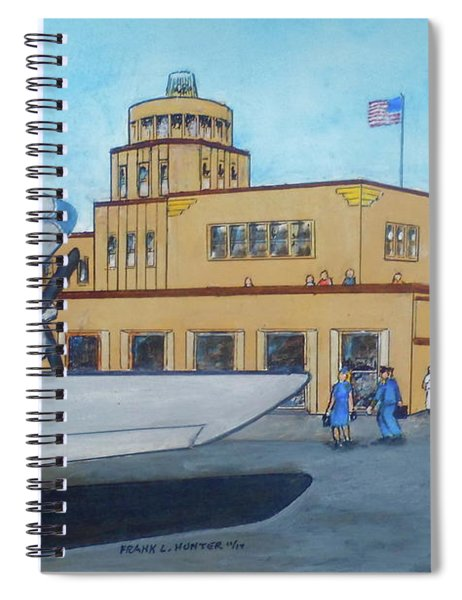 Tampa Davis Islands Airport Crew Change  Spiral Notebook