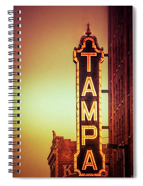 Tampa Theatre Spiral Notebook