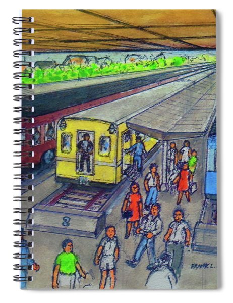 Tampa Train Station With Portsmouth Ohio Railroads Spiral Notebook