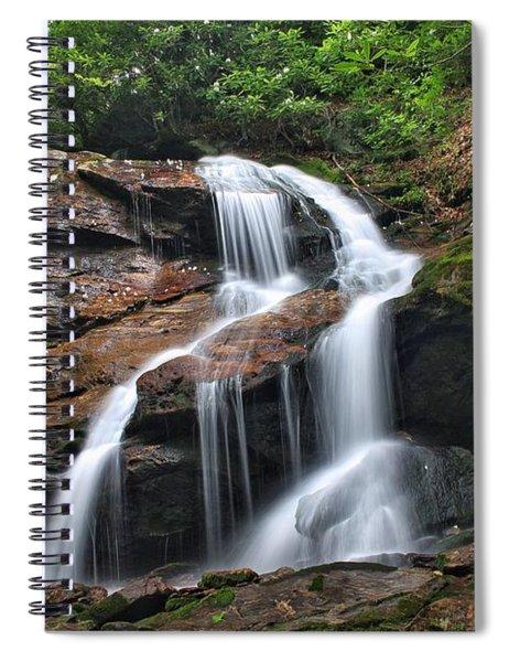 Upper Dill Falls Spiral Notebook