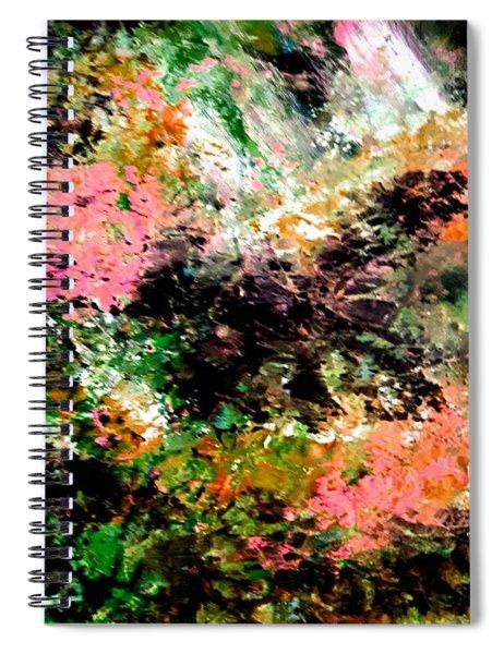 Tangled Garden Spiral Notebook