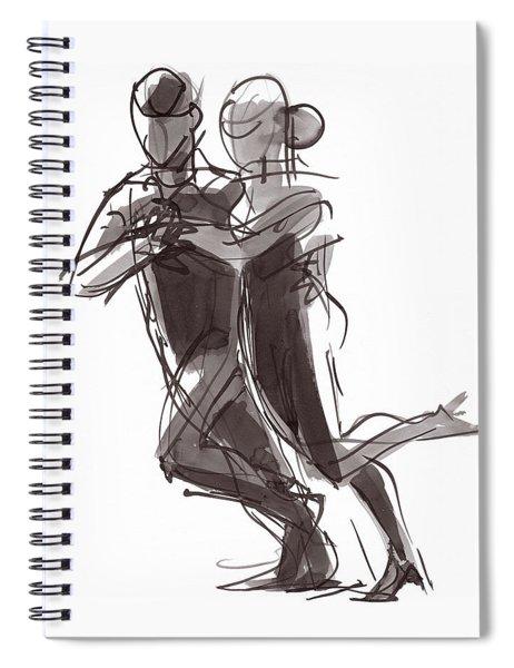 Tango #24 Spiral Notebook