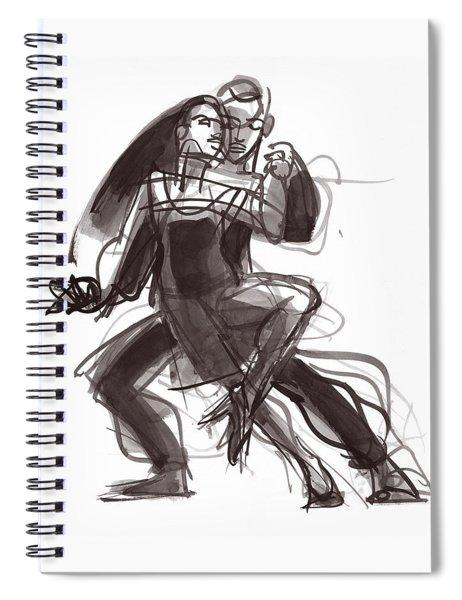 Tango #35 Spiral Notebook