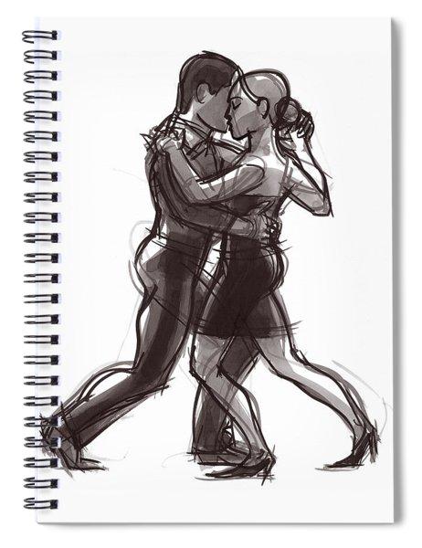 Tango #51 Spiral Notebook