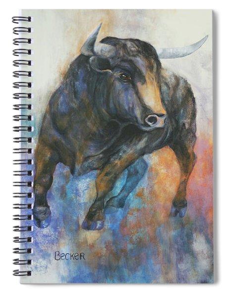 Tango On Wall Street Spiral Notebook