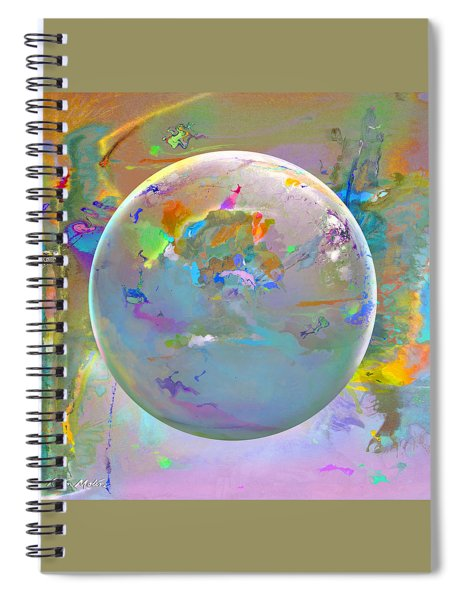 Tango With Light  Spiral Notebook