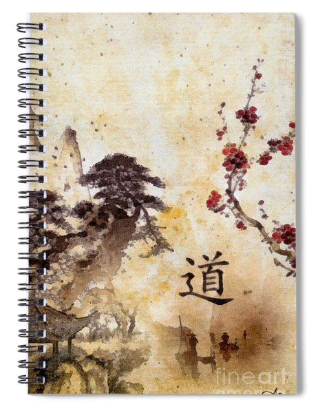 Tao Te Ching Spiral Notebook