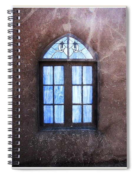 Taos, There's Something In The Light 4 Spiral Notebook