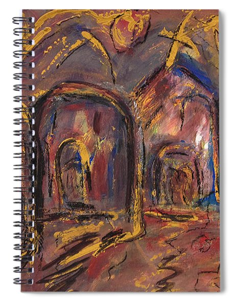 Taos's Spirit Spiral Notebook