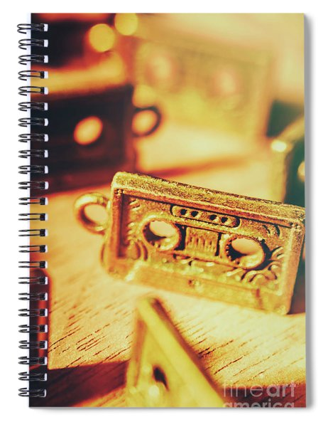 Tapes From The Golden Oldies Spiral Notebook