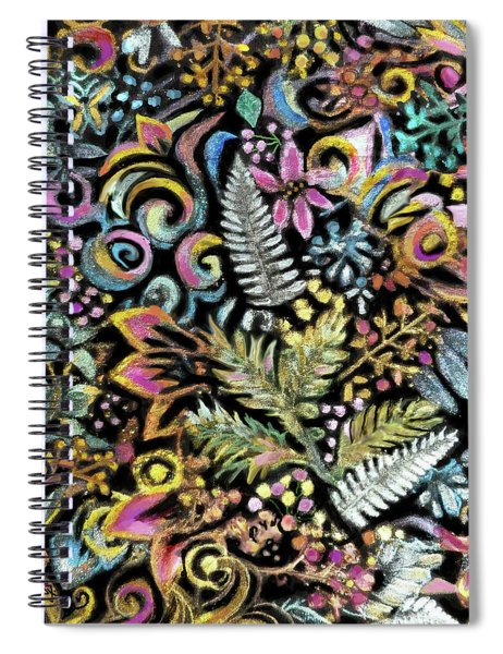 Tapesty Shimmer Spiral Notebook