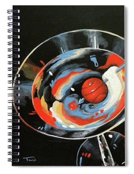 Tar Heel Martini IIi   Spiral Notebook