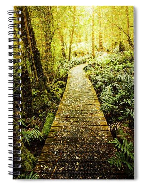 Tarkine Tasmania Trails Spiral Notebook